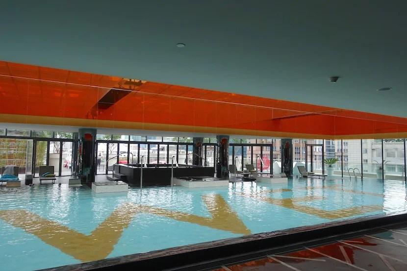 W Shanghai indoor pool 2