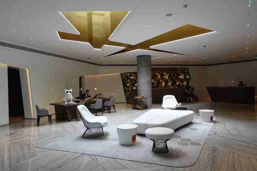 W Shanghai reception 1