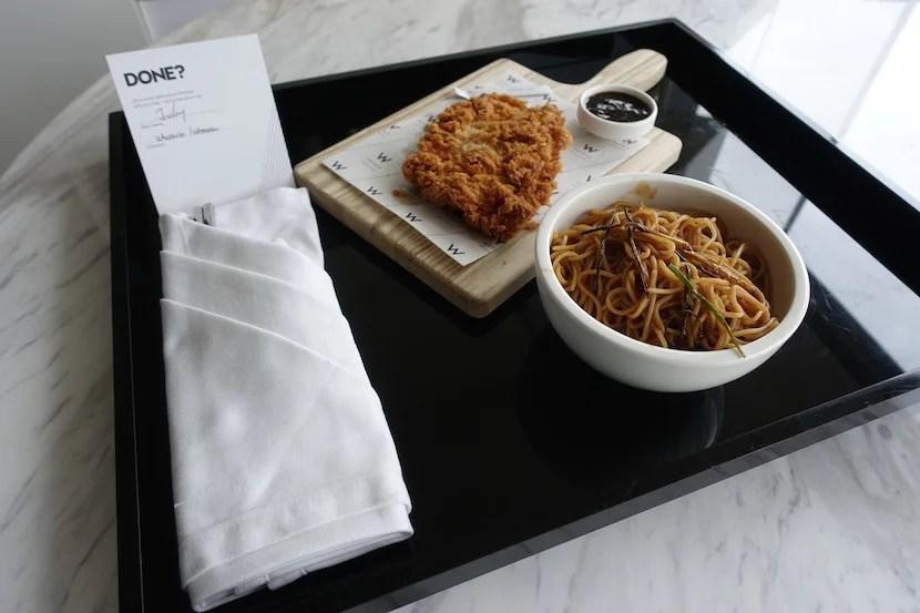 W Shanghai room service