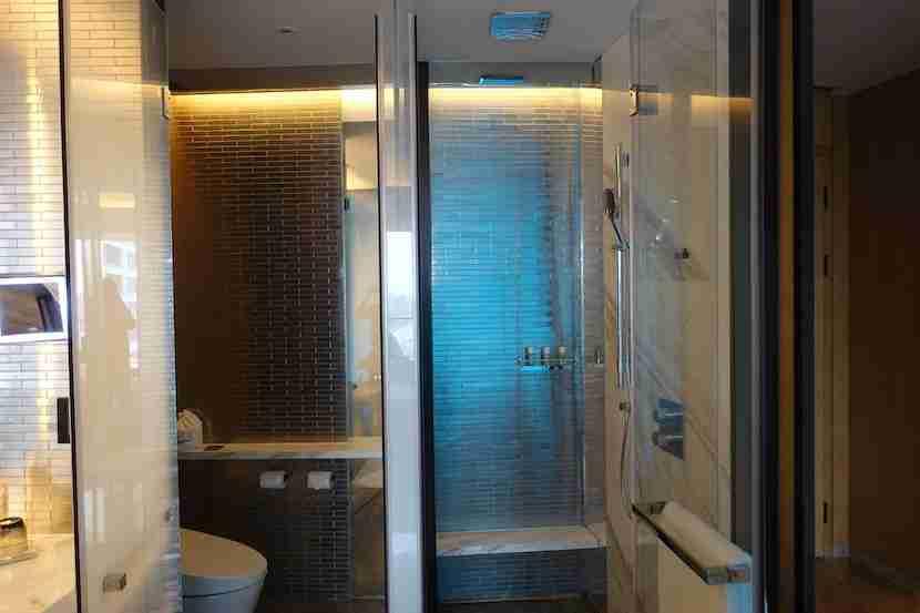 W Shanghai shower toilet