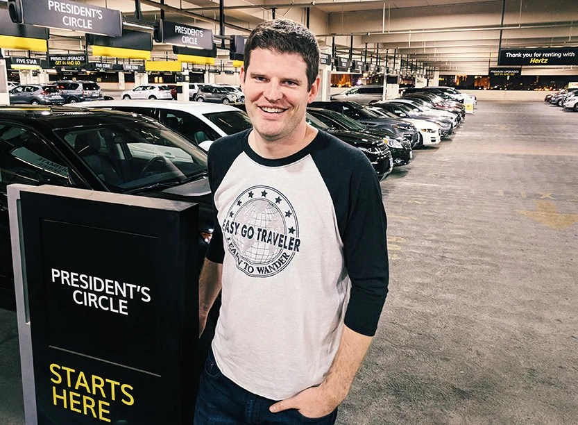 This Man Has Earned 1 2 Million United Miles By Renting Cars