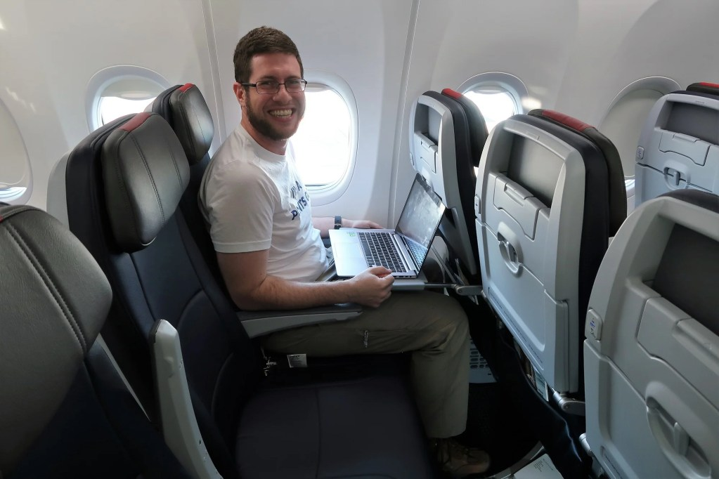 Instead Of Installing In Flight Entertainment Screens Seats Economy Class Are Fitted With Tablet Holders Thats Right American Airlines 737 MAX Is