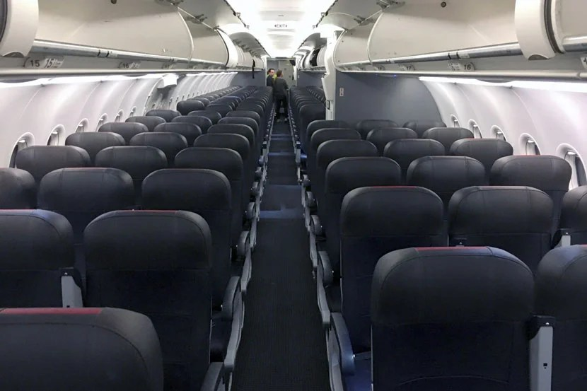 Review American A321 Basic Economy Chicago To Boston