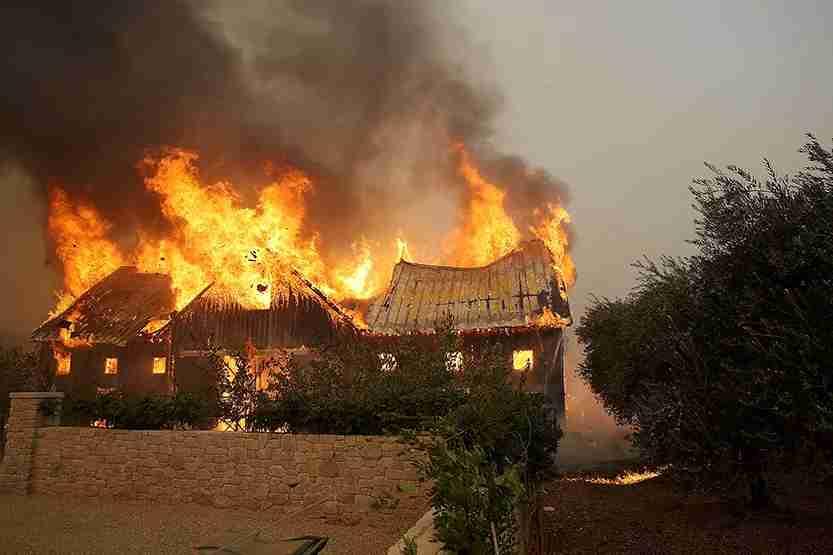 barn, glen ellen, sonoma, california, fire, wildfire
