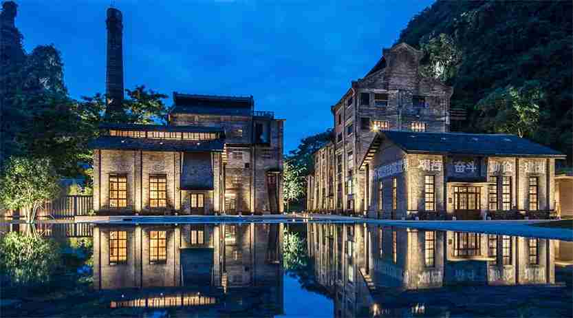The new Alila Hotel in Yangshuo is in a former sugar mill. Image courtesy of Alila Hotels.
