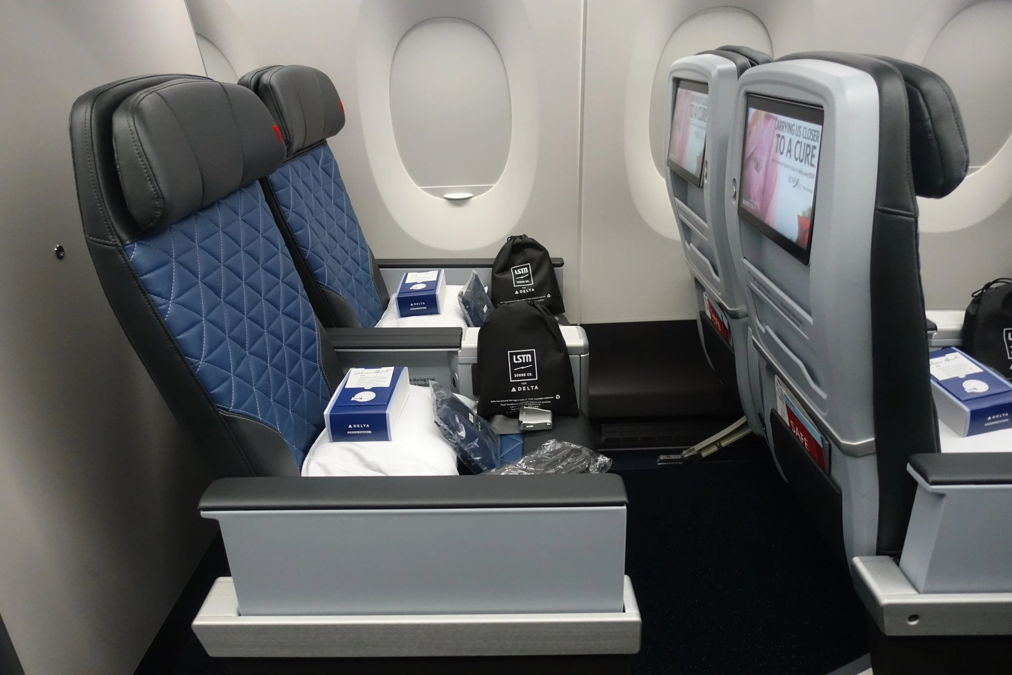 Delta's Best Planes for Transatlantic Premium Economy Class
