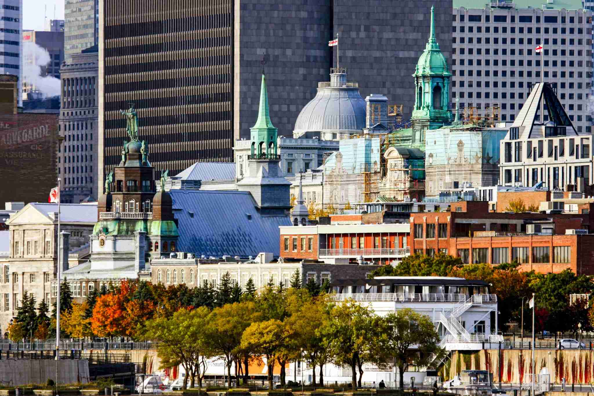 Image of Montreal in fall by Raffi Maghdessian / Getty Images.