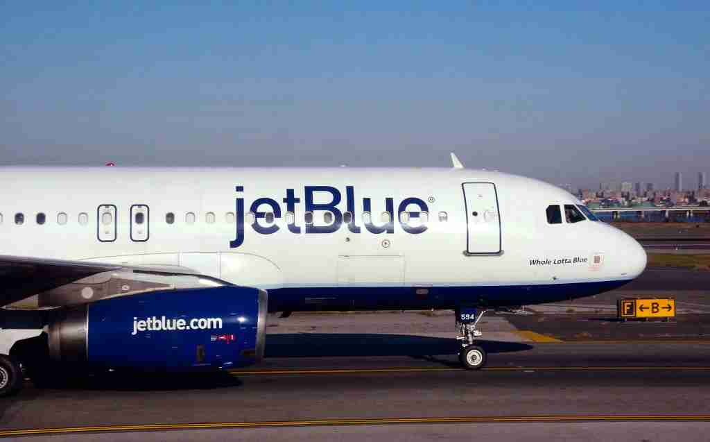 JetBlue has been flying the Airbus A320, like this one seen at LaGuardia, since 2000 (Photo by Robert Alexander/Getty Images)