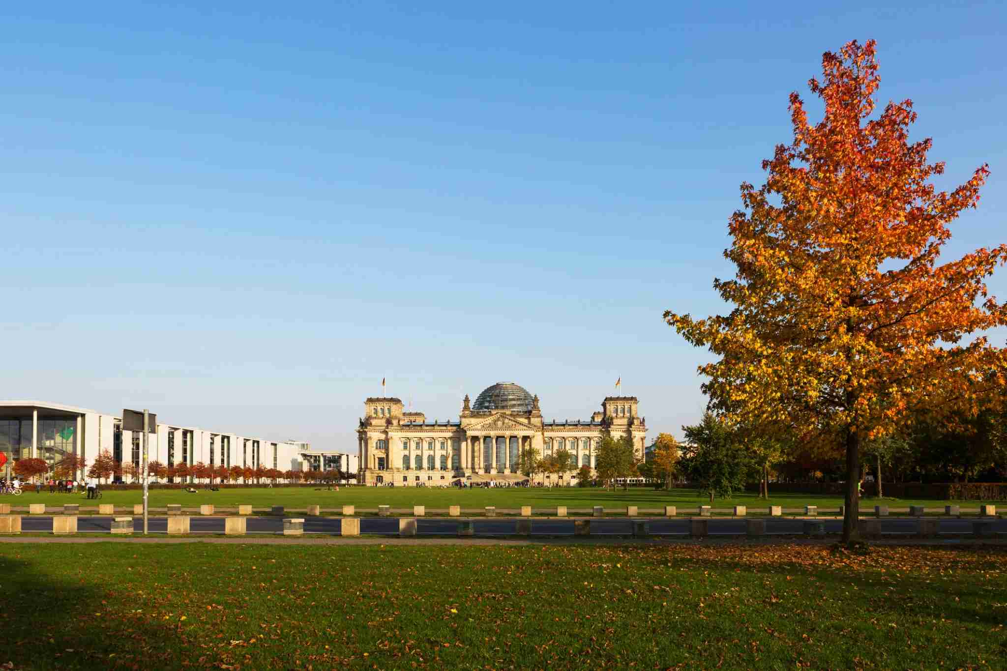 Image of the Reichstag building in Berlin by fhm / Getty Images.