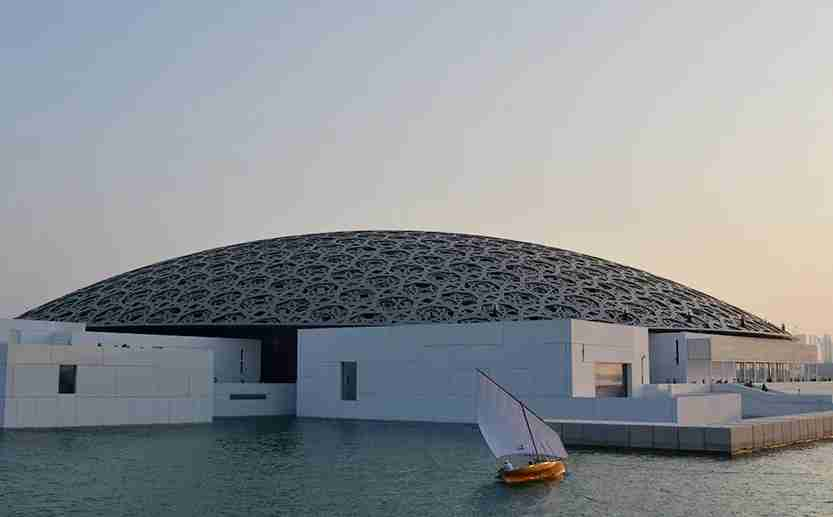 The long-awaited Louvre Abu Dhabi opened in November. Image credit: Getty Images.