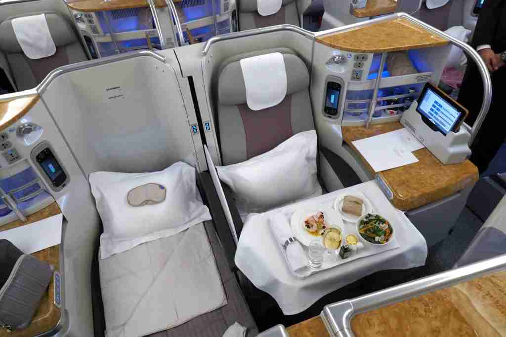 Emirates 100th A380 Tour Economy Business First Class Suites