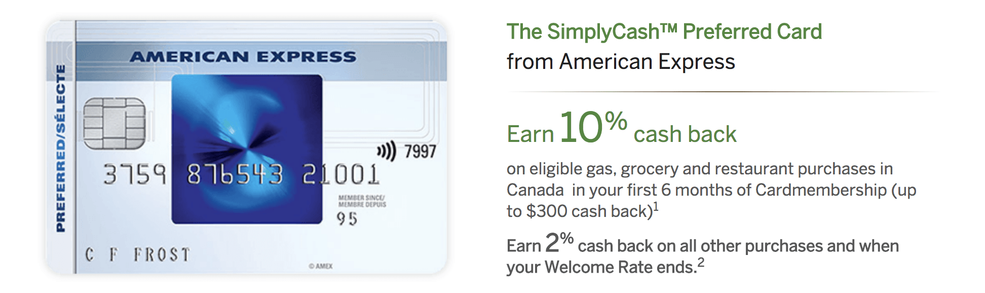 Canadians Get 10 Cash Back With Simplycash Preferred Card