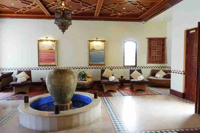 Spa Relax Area Al Maha Desert Resort Dubai Review