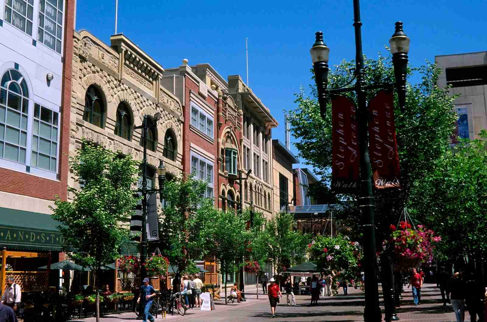 Stephen Avenue Walk, Calgary