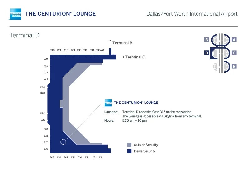 7 Centurion Lounges in 7 Days: Dallas (DFW) Review