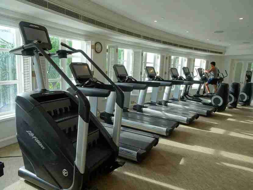 Work out in style in the Fitness Centre.
