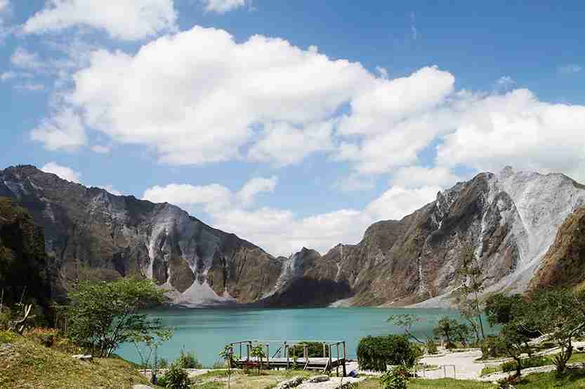 Scenic view of the crater of Mt. Pinatubo in the Philippines. Photo by amanalang / Getty Images