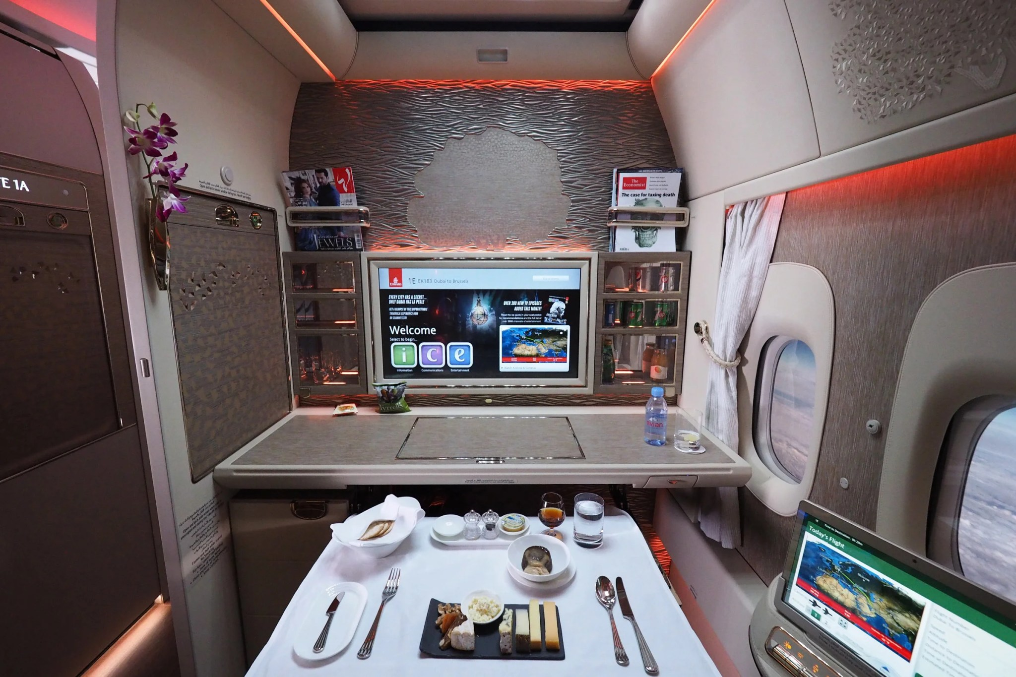 The best luxury suites in the sky and how to fly them