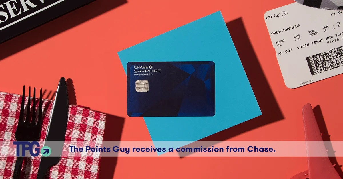 Review the chase sapphire preferred credit card the points guy reheart Gallery