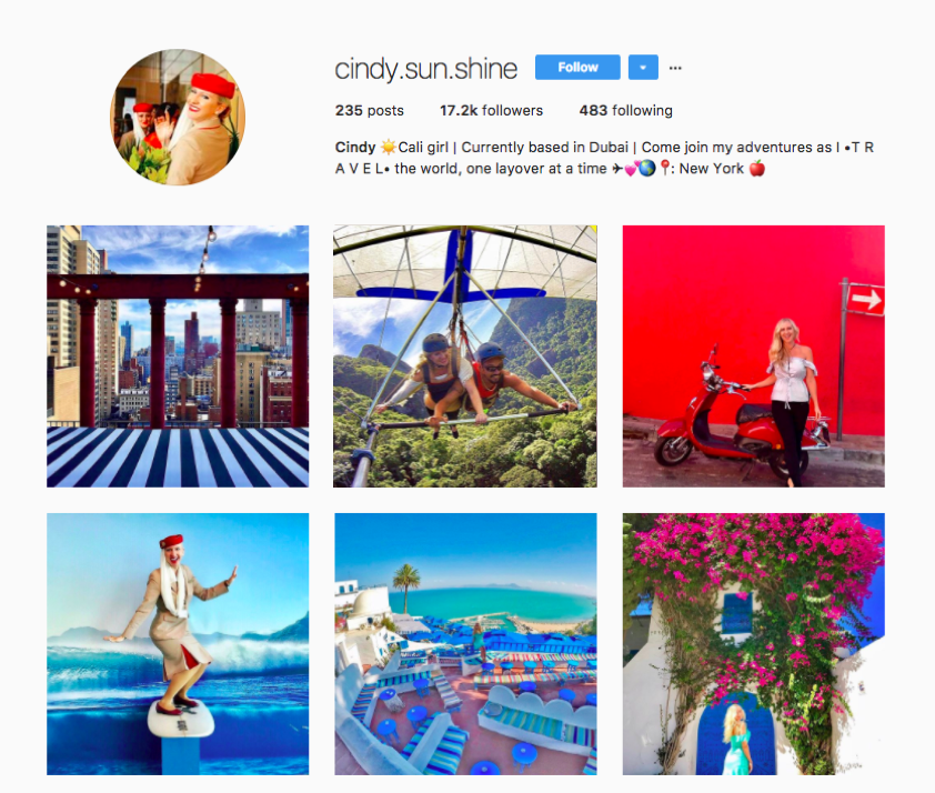 11 Flight Attendants to Follow on Instagram