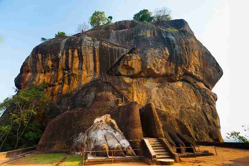 Sigiriya is one of many fascinating cultural sights in the country