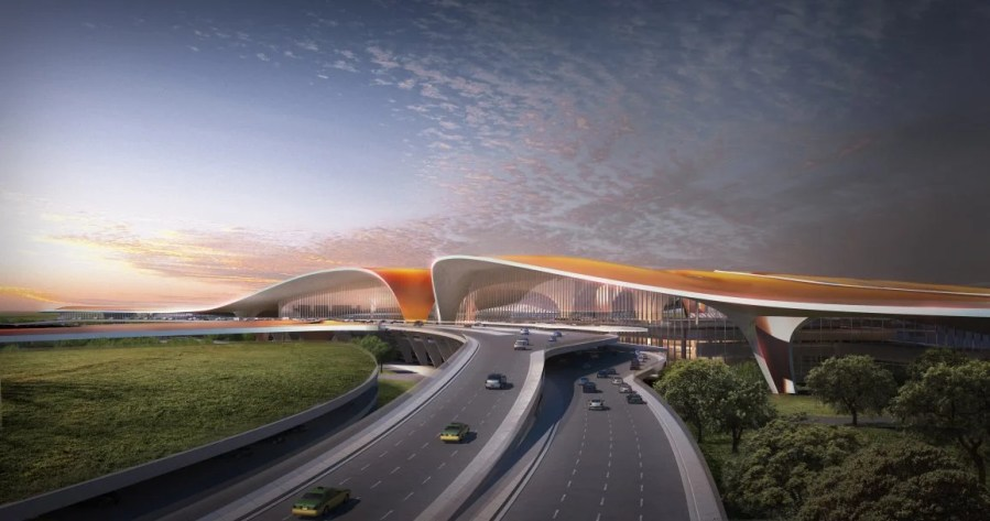 China s Largest and Most Expensive Airport is Opening in 2019