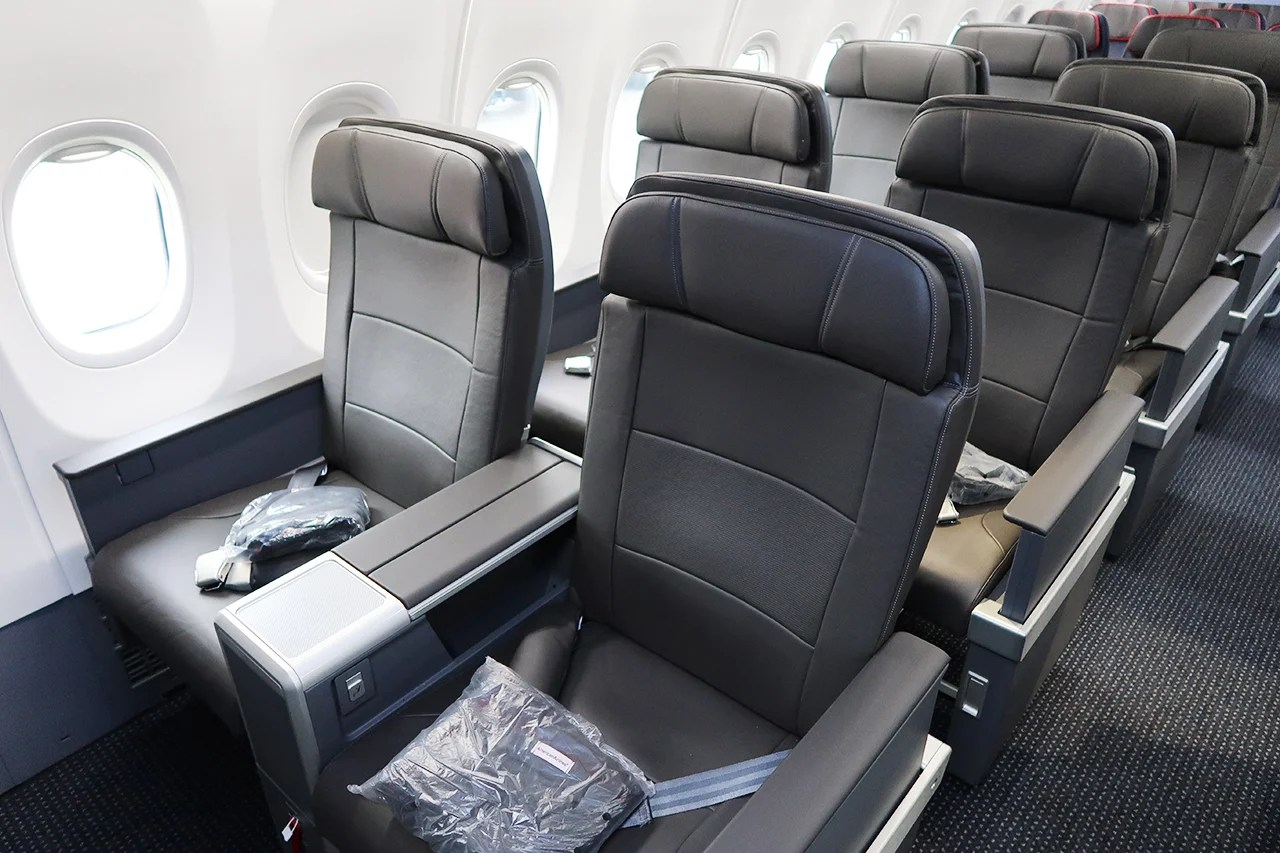 A Solid First-Class Experience On American Airlines' New 737 MAX 8, NYC-Miami