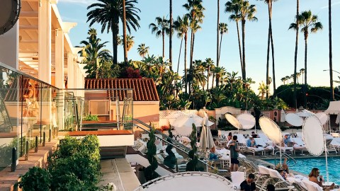 Waterslide Hotels Los Angeles
