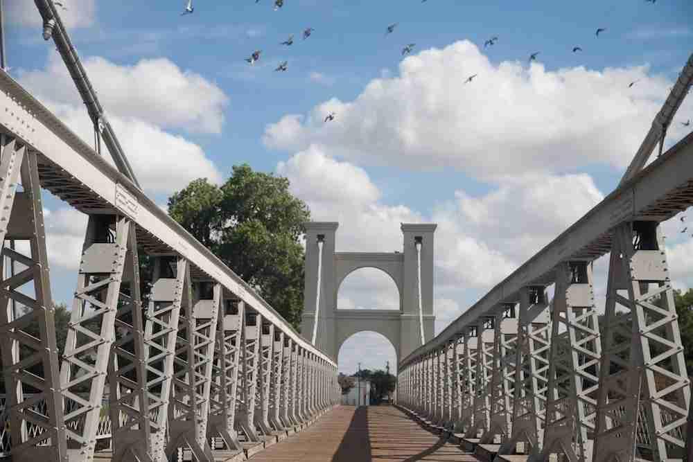 Suspension Bridge, Waco, Texas