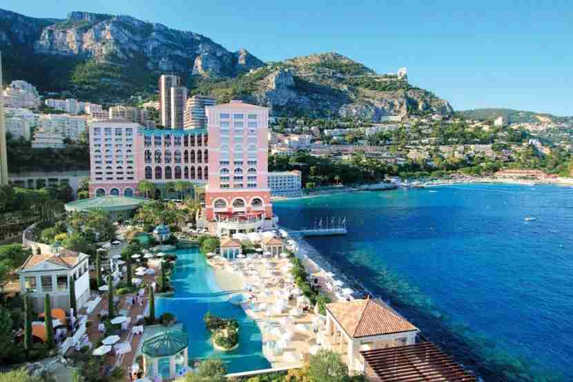 The Monte-Carlo Bay Hotel & Resort offers majestic views of the Mediterranean Sea. Photo courtesy of Monte-Carlo Bay Hotel & Resort