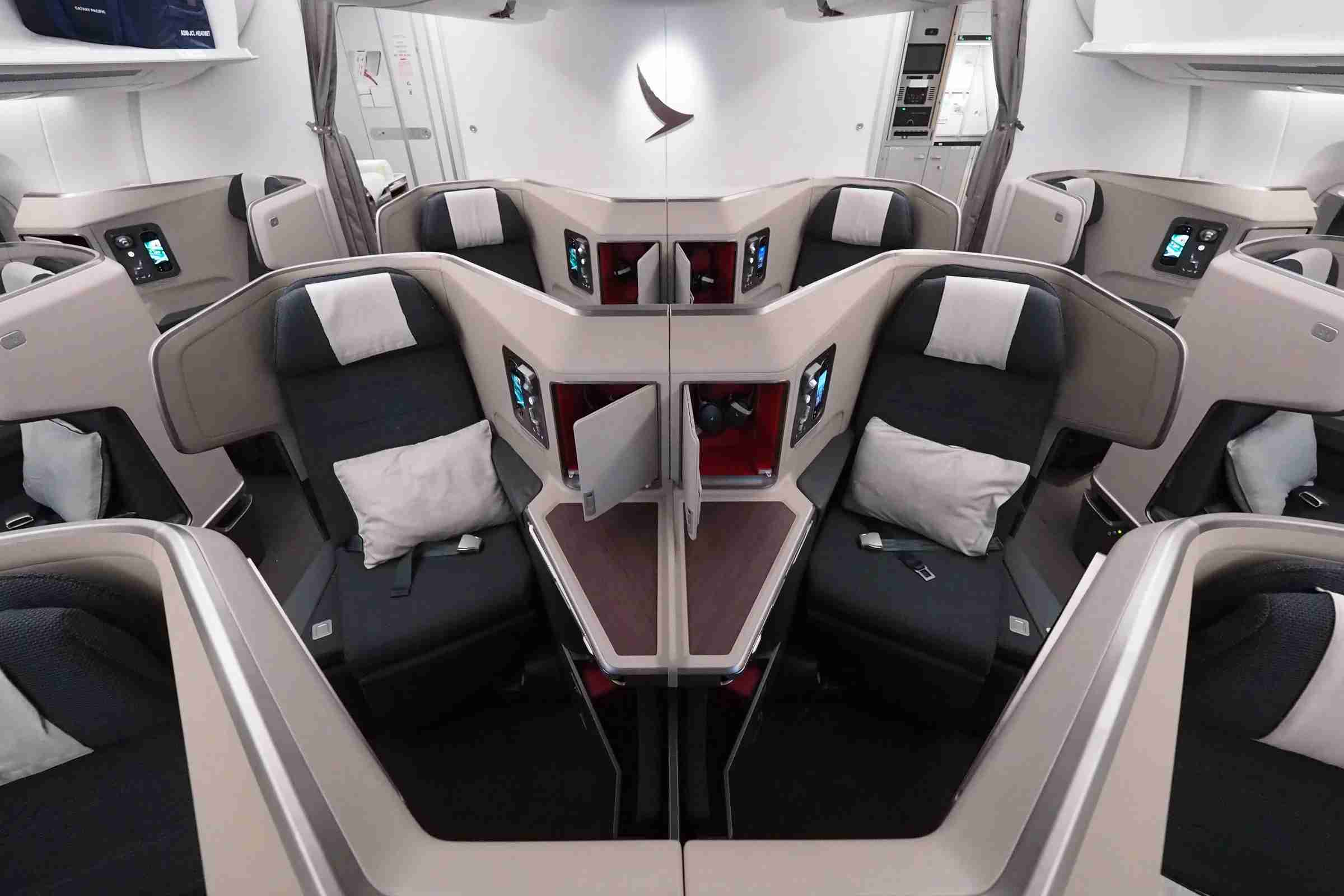 Use American AAdvantage miles for excellent partner redemptions, such as Cathay Pacific business class.
