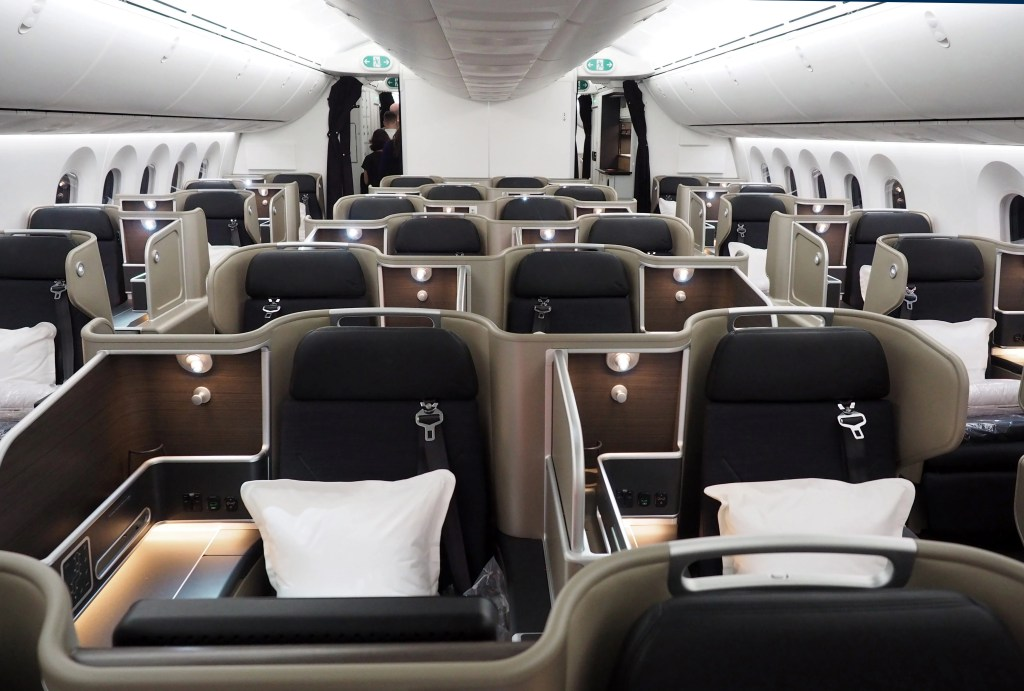 Great Business Class Award Space on New Qantas 787 Dreamliner