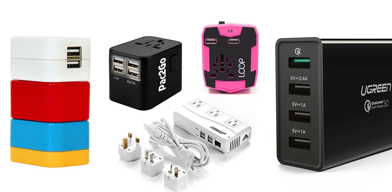 Product Review 5 Travel Adapters Go Head To House Wiring Colour Codes Australia