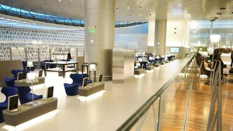 Review: Qatar Airways Al Mourjan Business Lounge, Doha