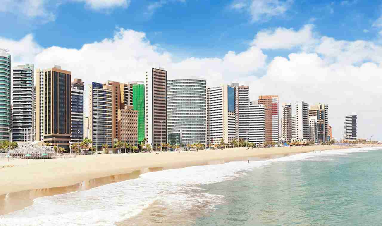 Fortaleza Iracema Beach in Brazil. Photo by craftvision/Getty Images.