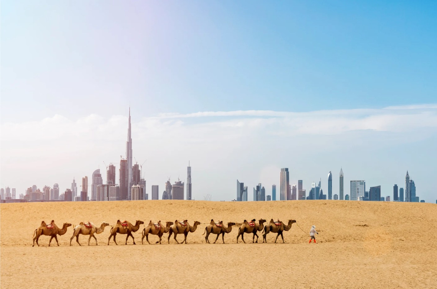 The many sides of Dubai. Photo by aiqingwang / Getty Images.