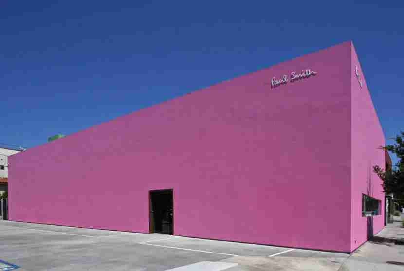 The exterior of Paul Smith