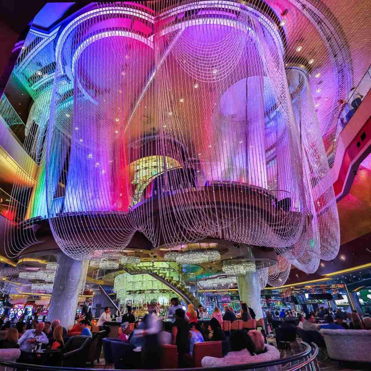 The Chandelier Bar. (Photo courtesy The Cosmopolitan of Las Vegas)