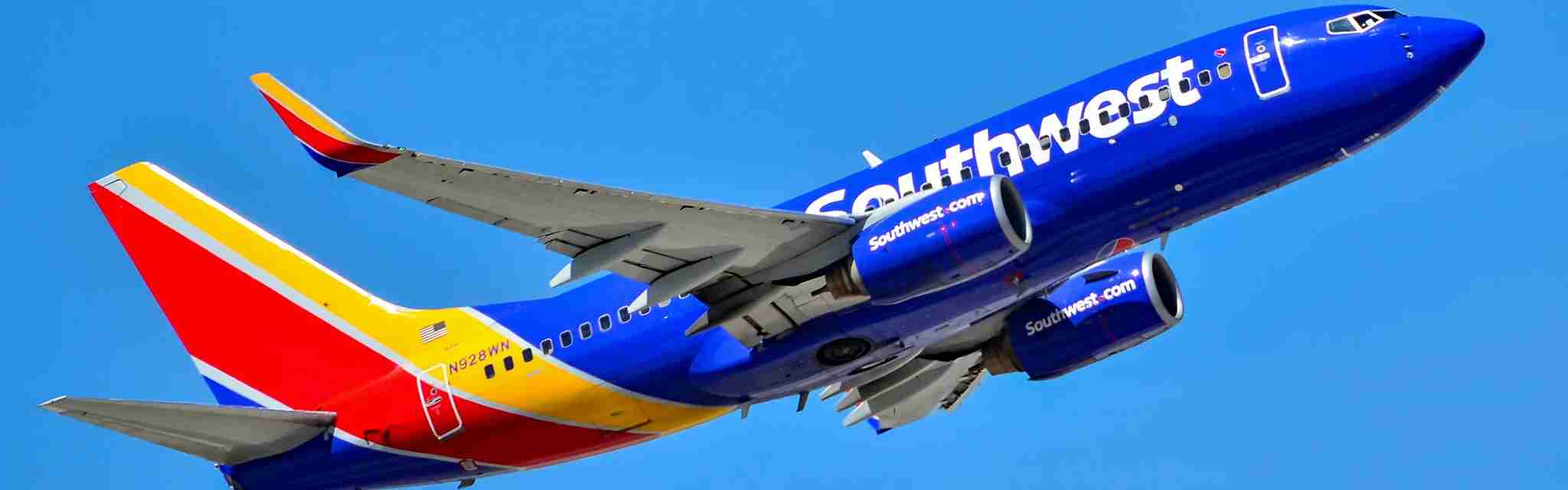 Southwest 737 new branding