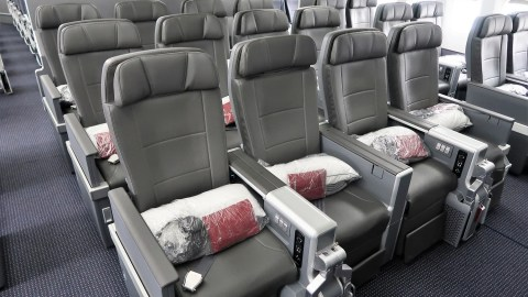 Aa S 777 300er Nearly Complete With Premium Economy Refit