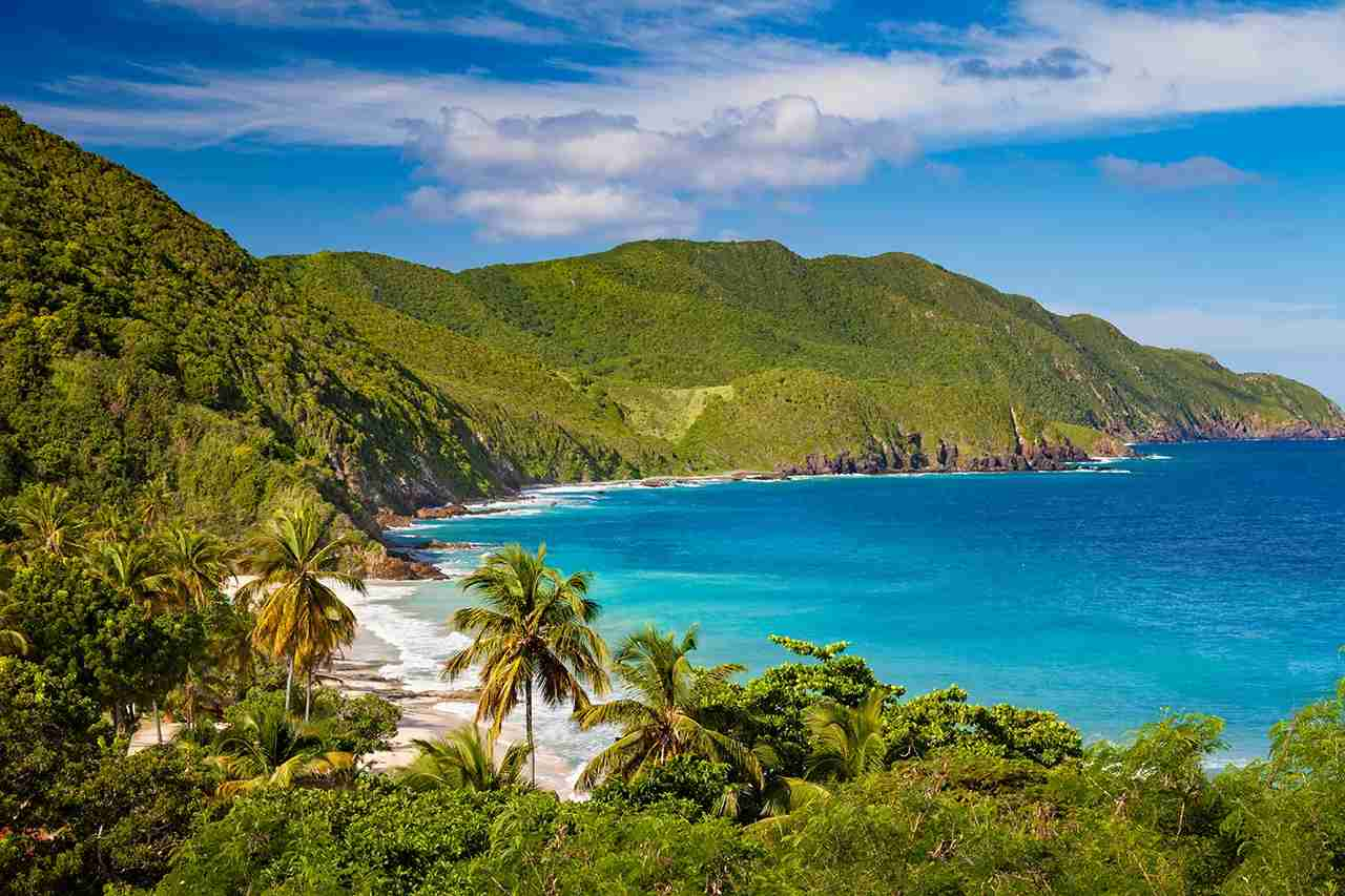 Carambola Beach in St.Croix, US Virgin Islands. Photo by cdwheatley/Getty Images.