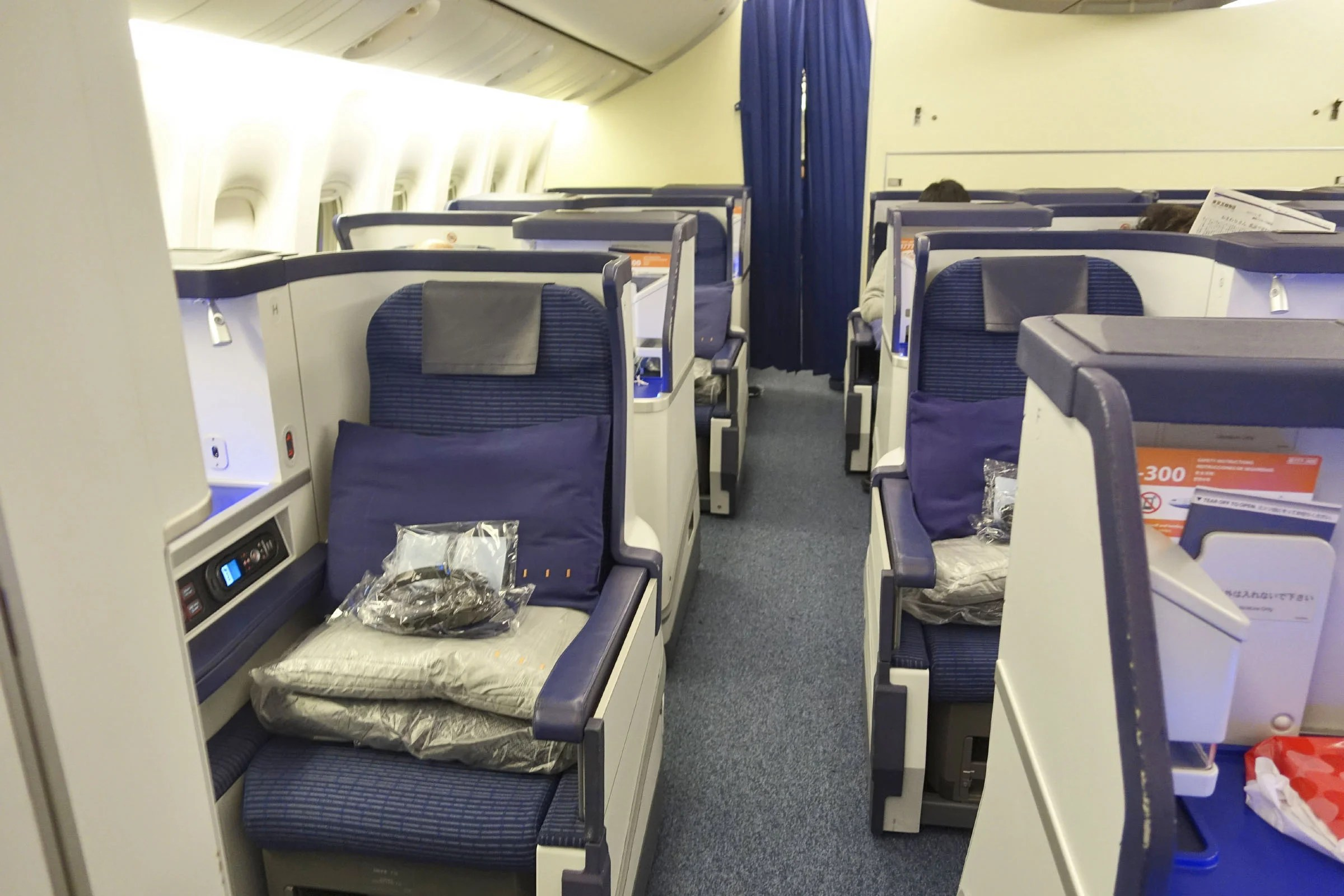 Review: ANA (Boeing 777-300ER) Business Class to New York