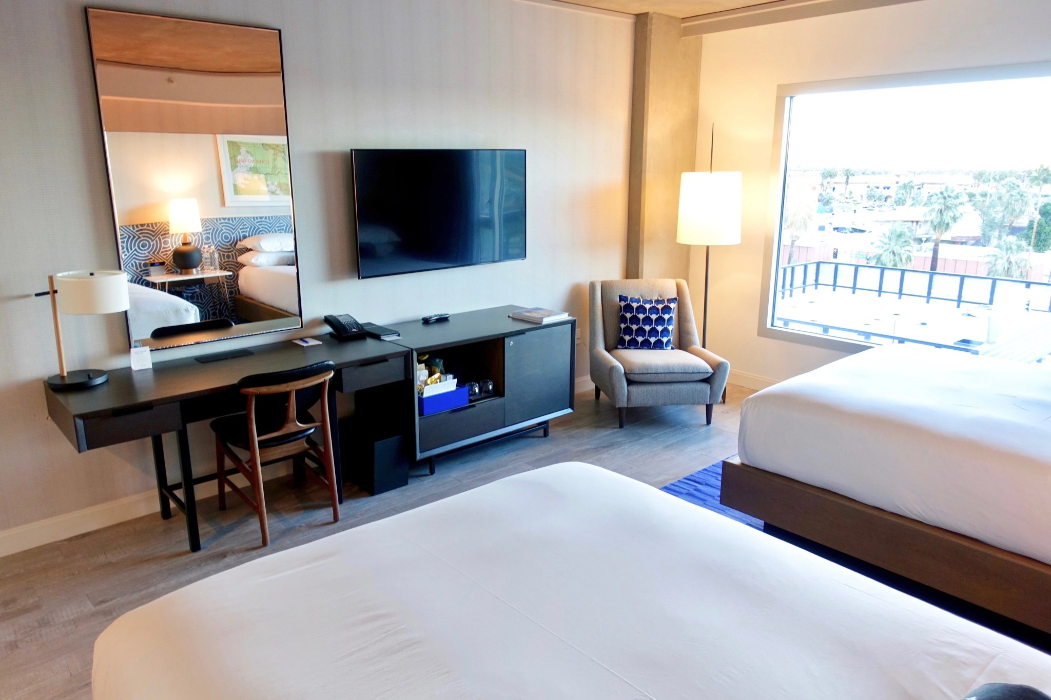 Desert Oasis: A First Look at the Kimpton Rowan Palm Springs Hotel