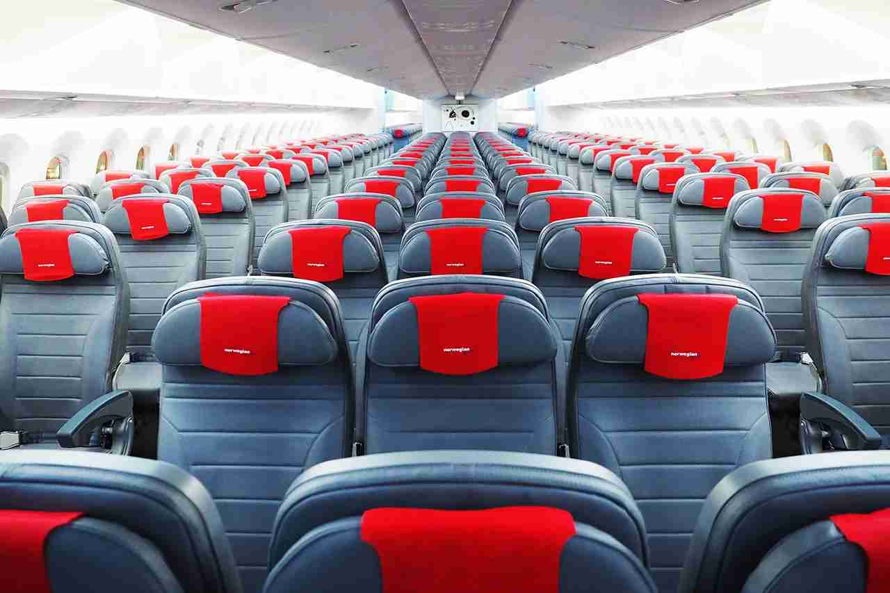 Norwegian 787-9 economy