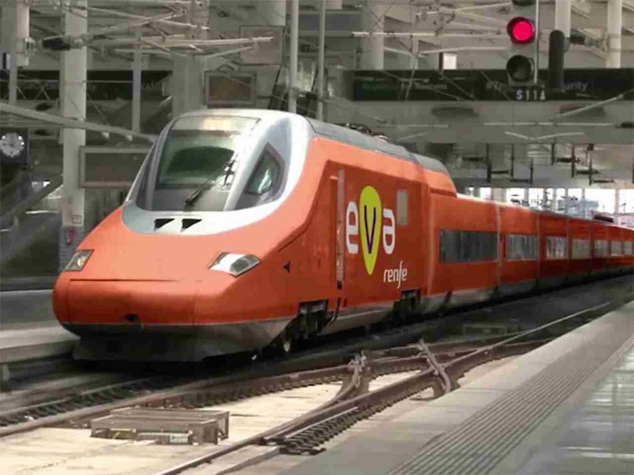 RENFE will be unveiling Eva, a smart train concept that will introduce a high speed service between Madrid and Barcelona in 2019. (Photo courtesy RENFE)