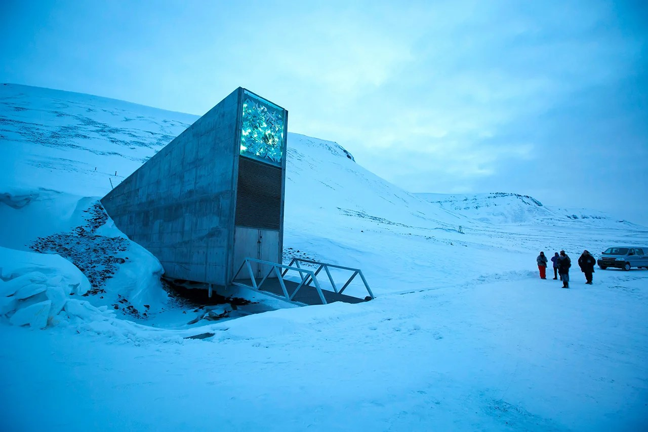 Check Out the Svalbard Global Seed Vault — the World's Future in One Fridge
