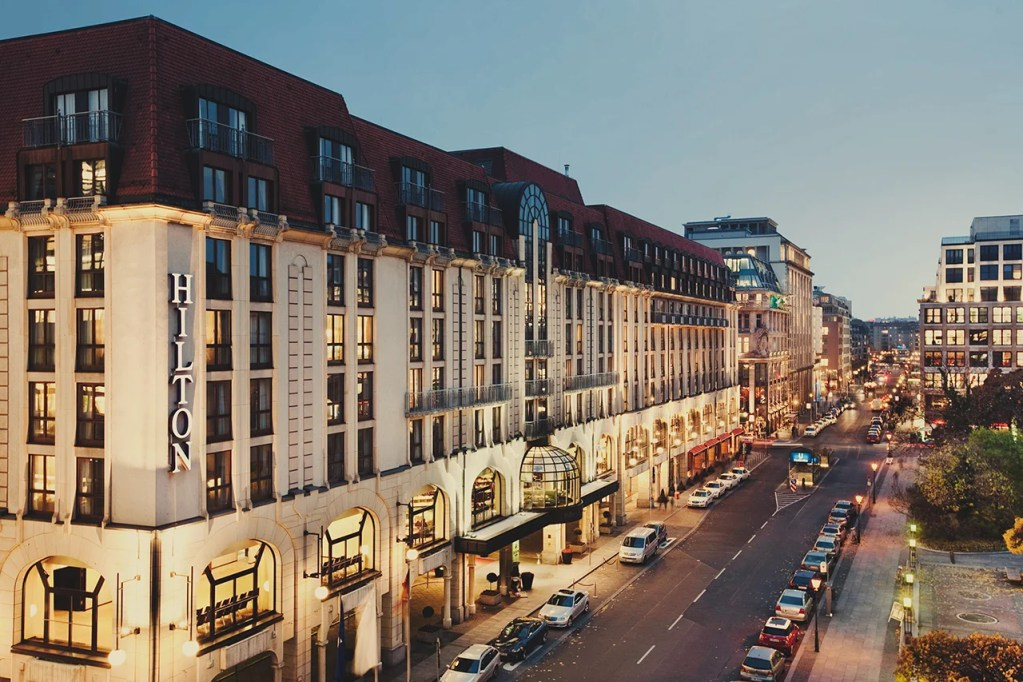 Hilton Hotel, Berlin. (Photo courtesy Hilton)