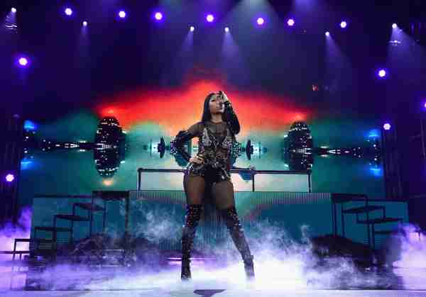 LAS VEGAS, NV - MAY 21:  Recording artist Nicki Minaj performs onstage during the 2017 Billboard Music Awards at T-Mobile Arena on May 21, 2017 in Las Vegas, Nevada.  (Photo by John Shearer/BBMA2017/Getty Images for dcp)