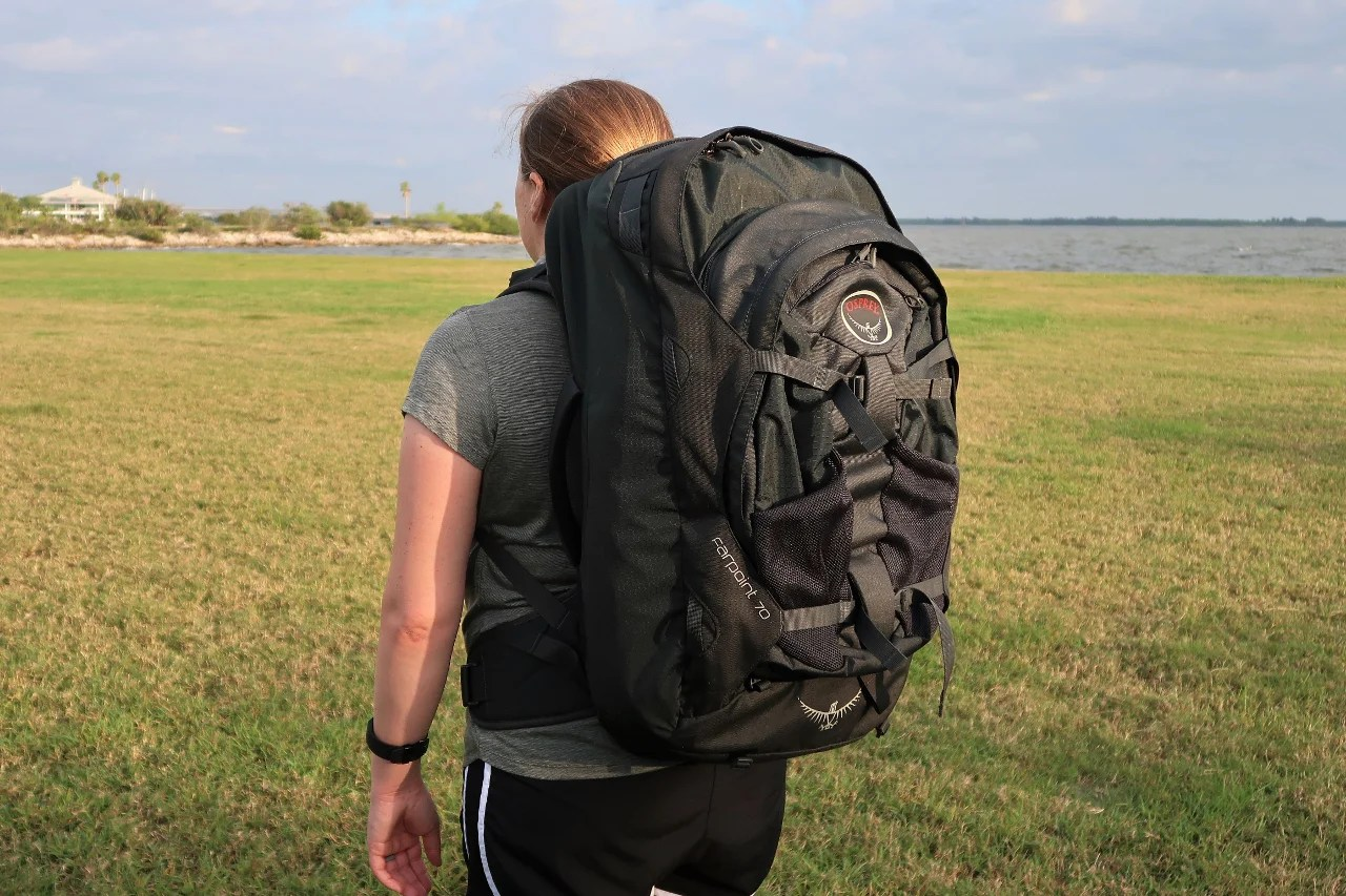 55ed7a2945ca Luggage Review  Osprey Farpoint 70 Travel Backpack
