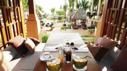 Breakfast Ritz Carlton Koh Samui